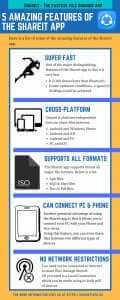 5 Amazing features of Shareit