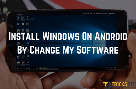 change my software