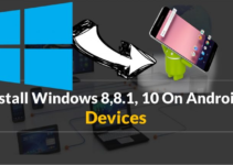 install windows on android device