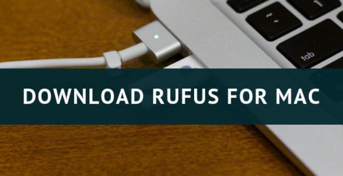 download rufus for mac