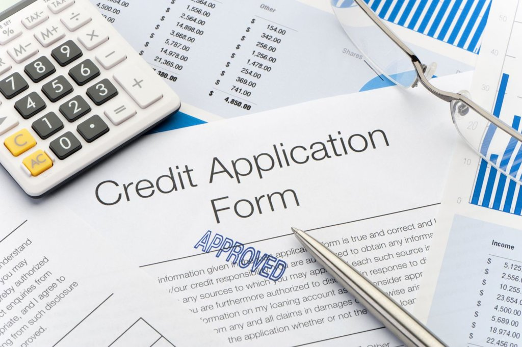credit application form approved