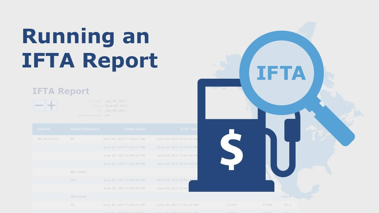 running an IFTA report